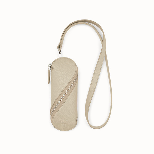 FENDI GLASSES CASE - White leather case - view 1 small thumbnail