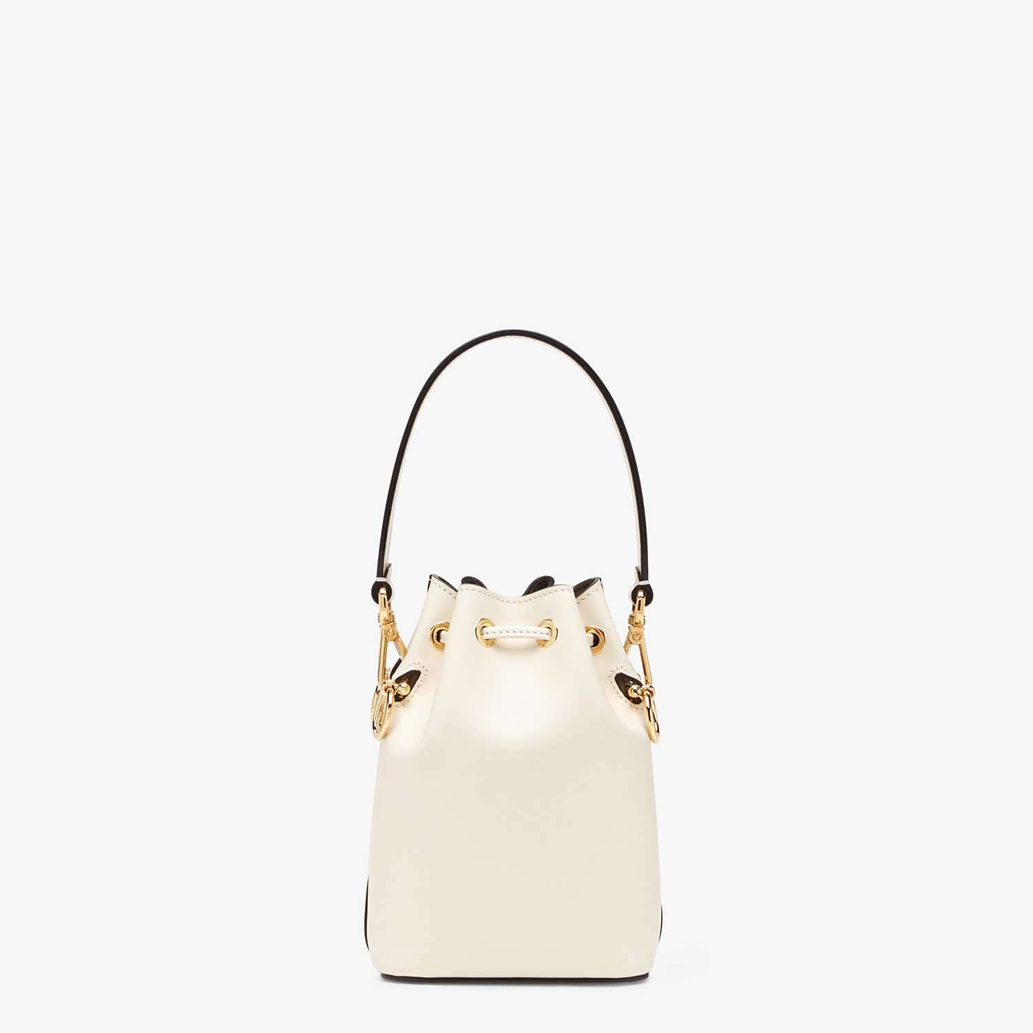 FENDI MON TRESOR - White leather mini-bag - view 4 detail