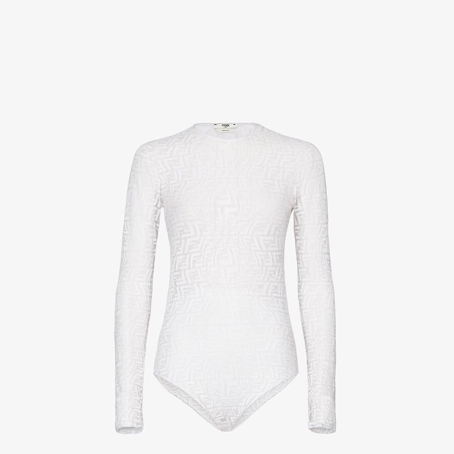 FENDI BODY - White tulle body - view 1 detail