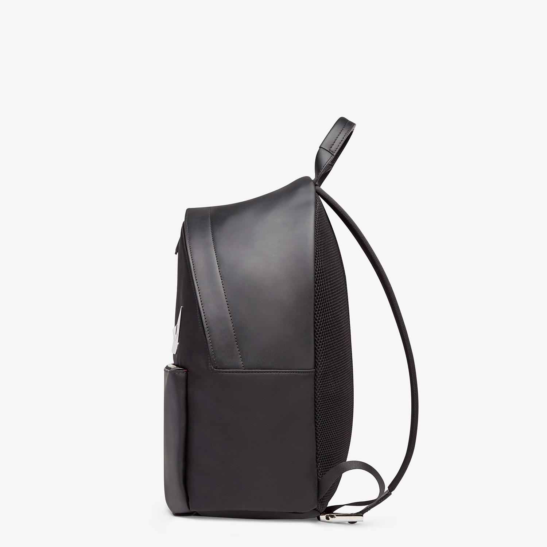 FENDI BACKPACK - Black nylon backpack - view 2 detail