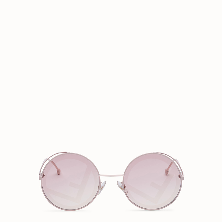 FENDI FENDIRAMA - Pink sunglasses - view 1 detail