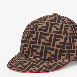FENDI FENDIRAMA HAT - Multicolour fabric baseball cap - view 2 thumbnail