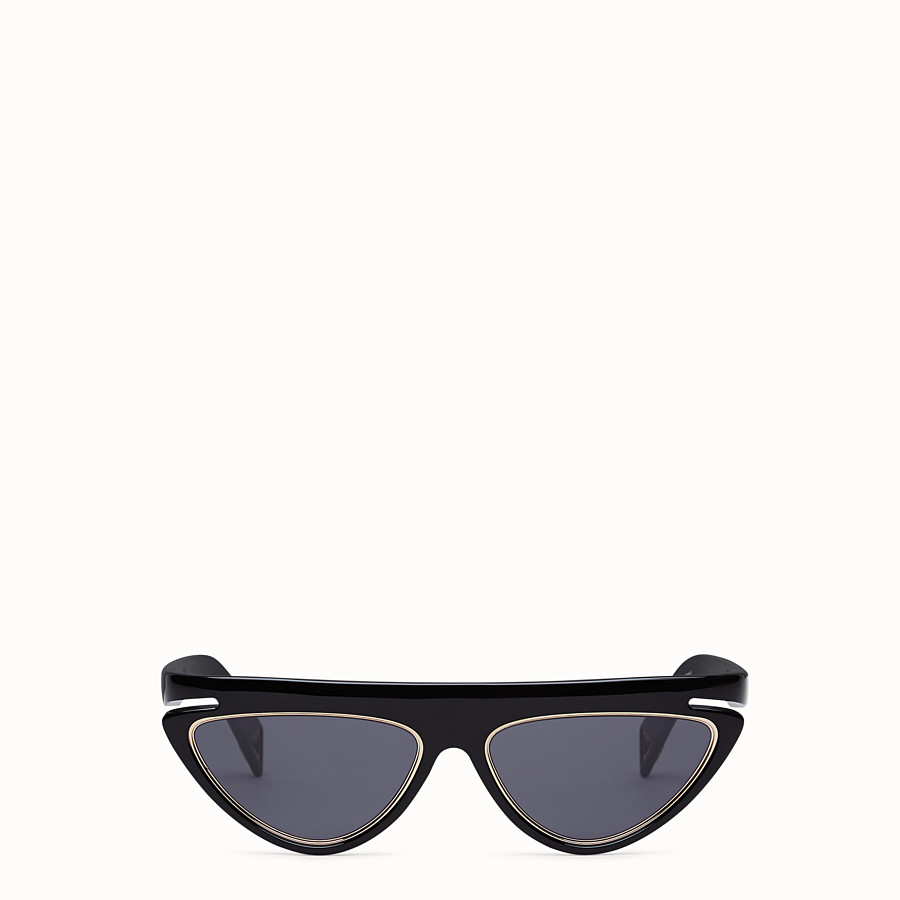 FENDI FFLUO - Black sunglasses - view 1 detail