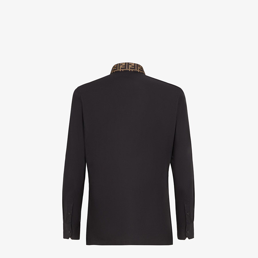 FENDI HEMD - Hemd aus Baumwolle in Schwarz - view 2 detail