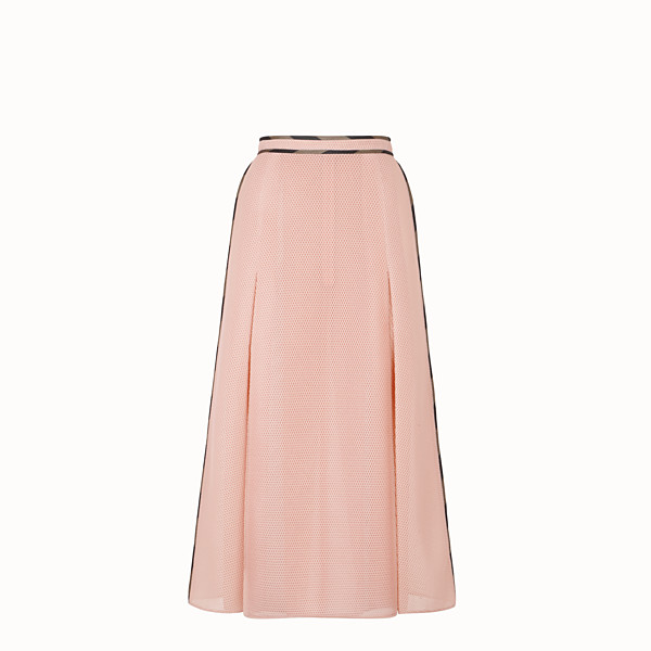 FENDI SKIRT - Skirt in pink tech mesh - view 1 small thumbnail