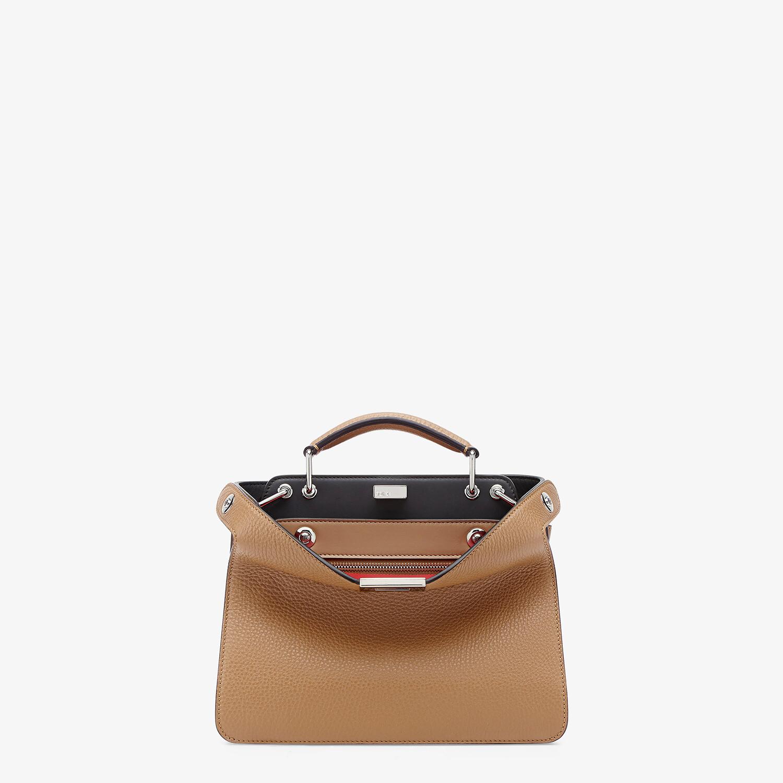 FENDI PEEKABOO ISEEU MINI - Beige leather bag - view 1 detail
