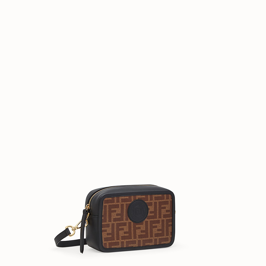 FENDI MINI CAMERA CASE - Multicolour canvas bag - view 2 detail
