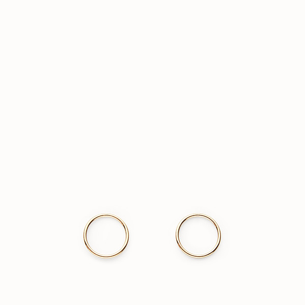 FENDI ABCHIC EARRINGS - Gold-color earrings - view 1 small thumbnail