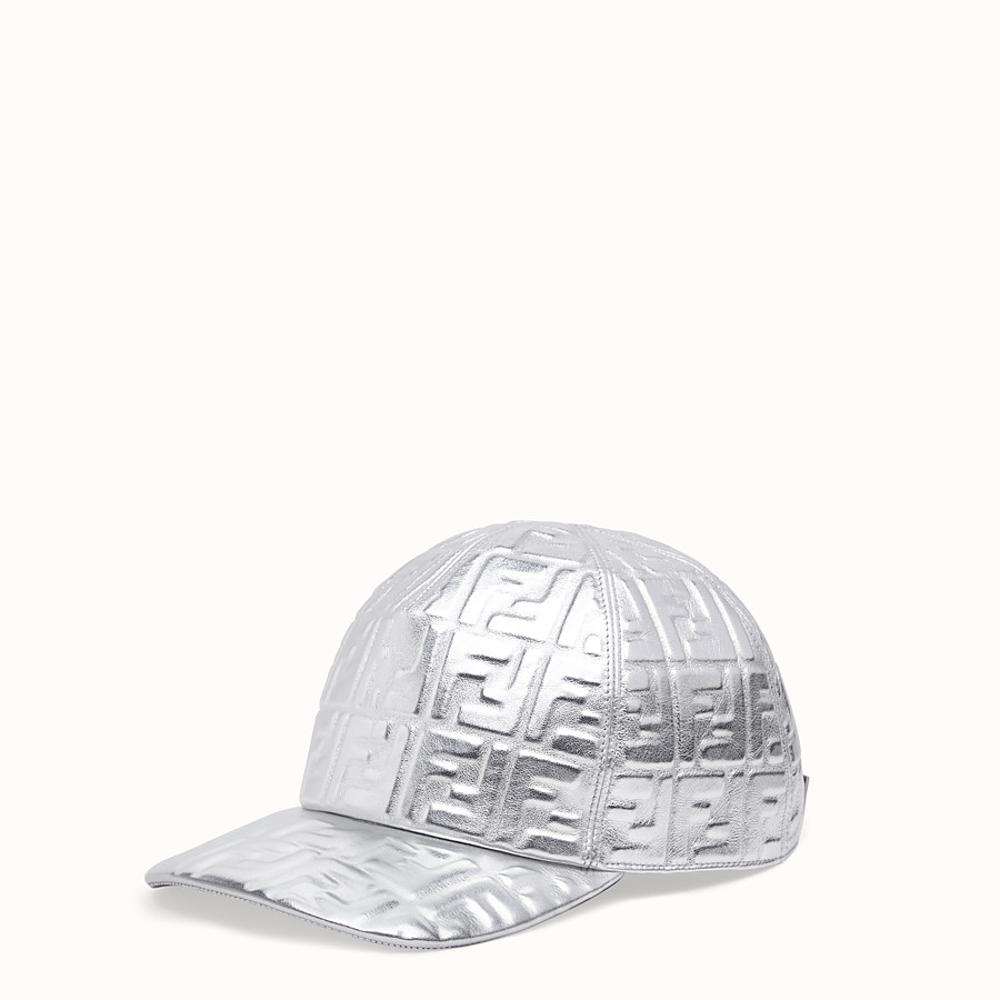 FENDI BASEBALL CAP - Fendi Prints On leather baseball cap - view 1 detail