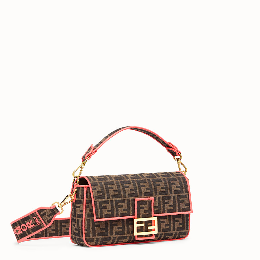 FENDI BAGUETTE - Fendi Roma Amor fabric bag - view 2 detail
