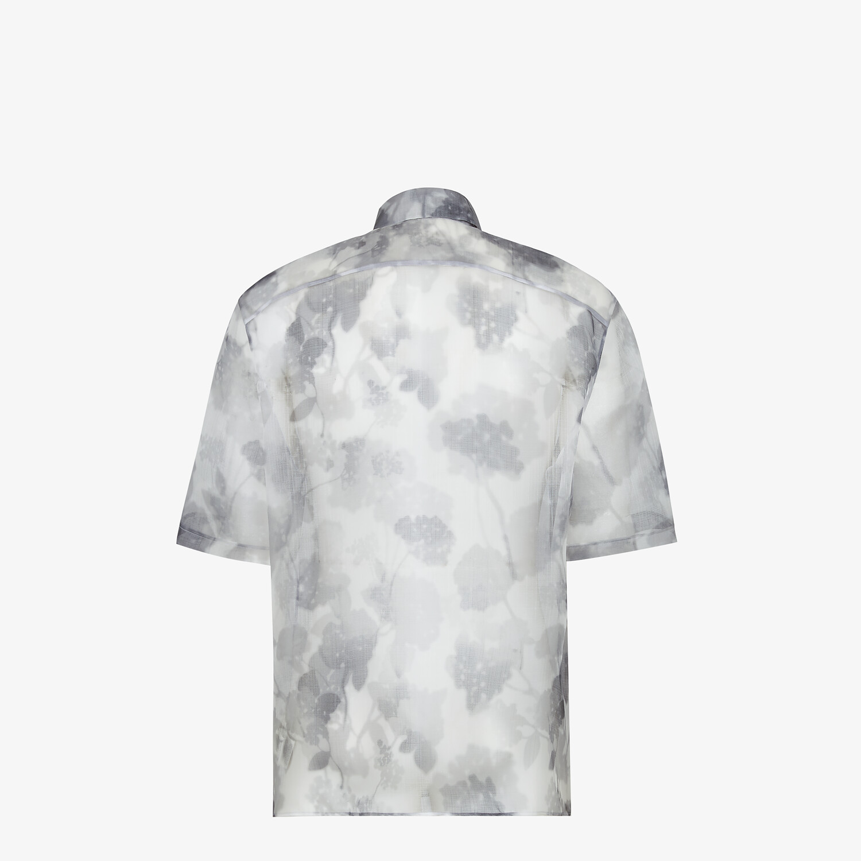 FENDI SHIRT - Natural organza shirt - view 2 detail