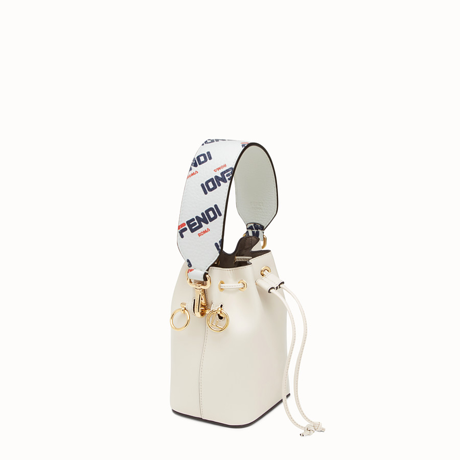 FENDI MINI STRAP YOU - Leather shoulder strap - view 3 detail