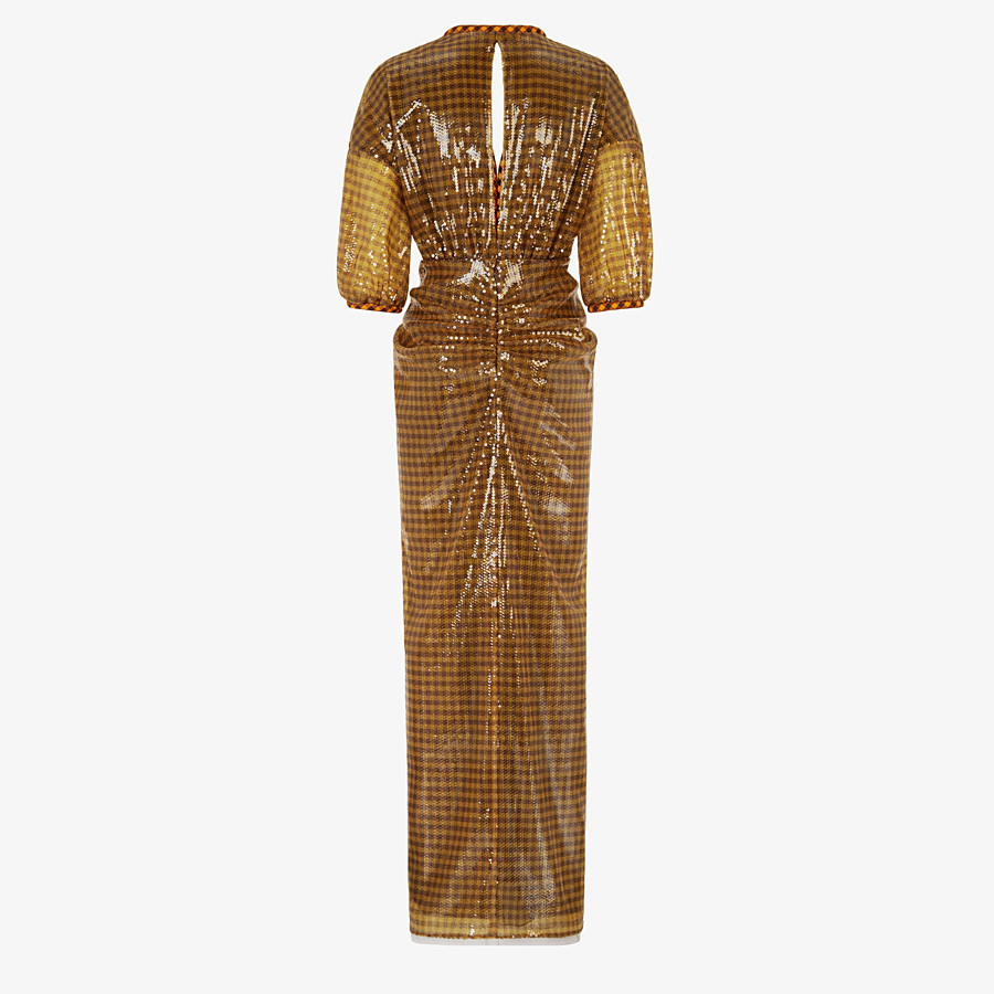 FENDI DRESS - Check sequin dress - view 2 detail