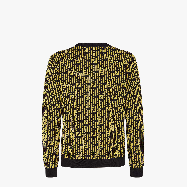 FENDI SWEATER - Multicolor cashmere sweater - view 2 detail