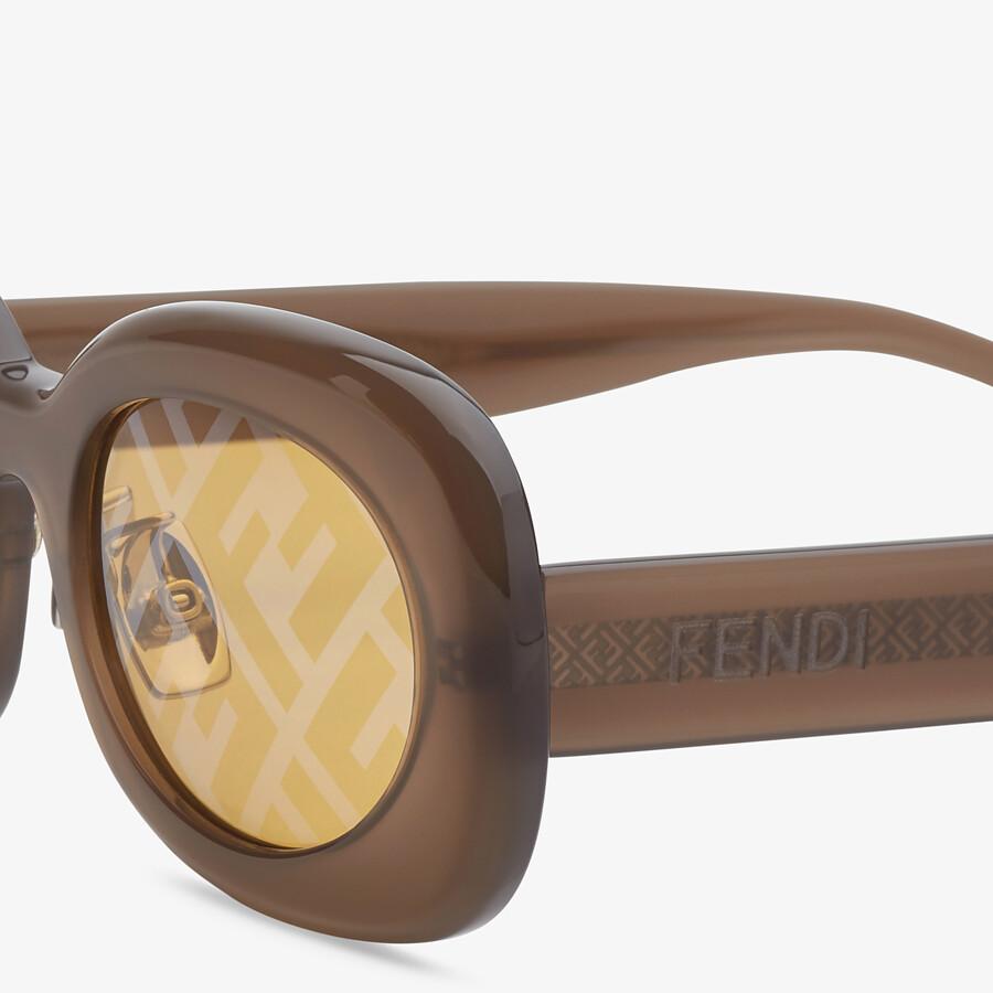 FENDI FENDI SHADES - Fashion Show Sunglasses - view 3 detail