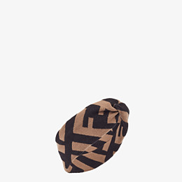 FENDI FF BAND - Multicolour wool and viscose band - view 1 thumbnail