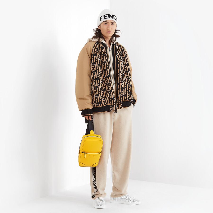 FENDI PANTS - Beige cashmere pants - view 4 detail