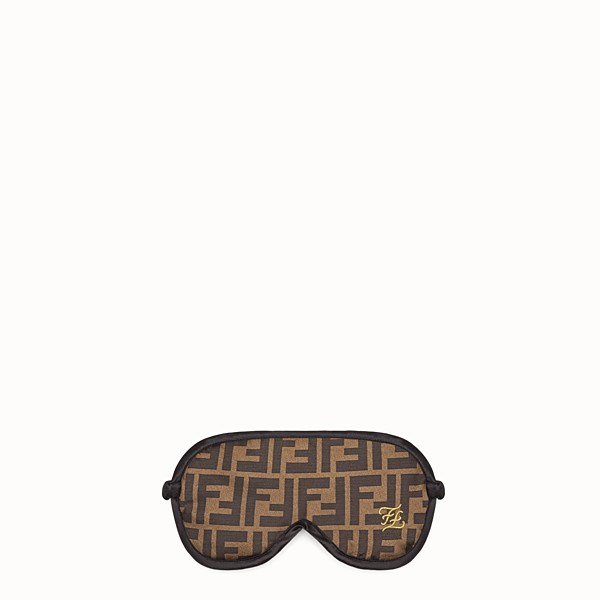 FENDI SHIELD - Brown fabric shield - view 1 small thumbnail