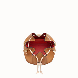FENDI MON TRESOR - Brown leather bag - view 5 thumbnail