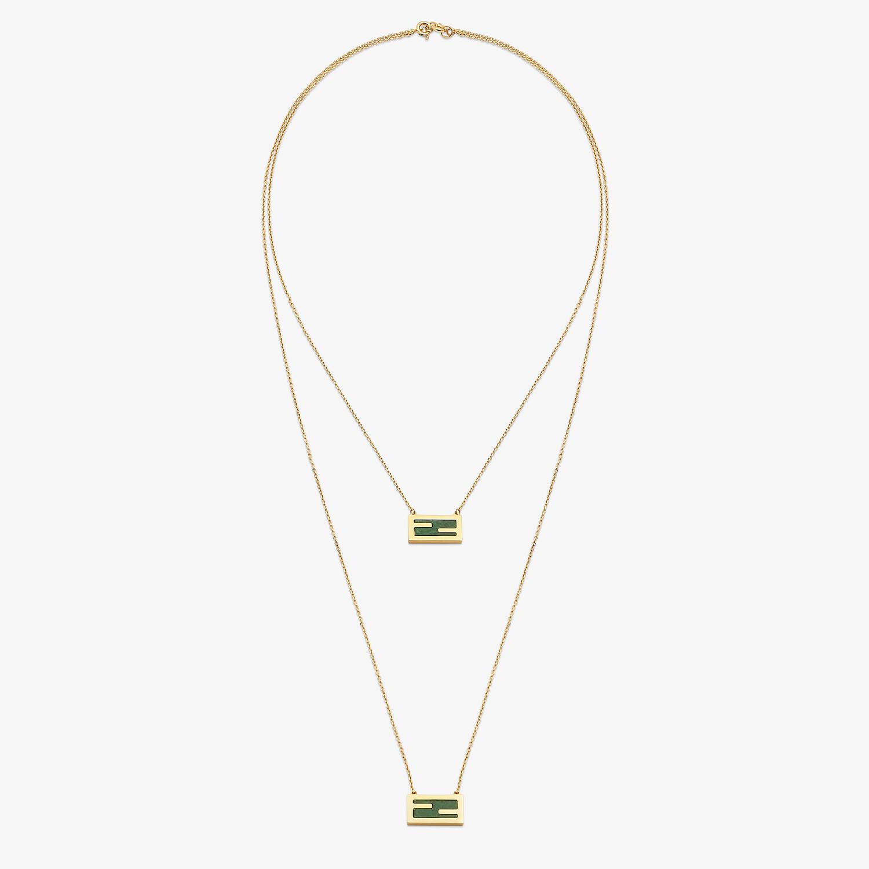 FENDI BAGUETTE-HALSKETTE - Halskette in der Farbe Gold - view 1 detail