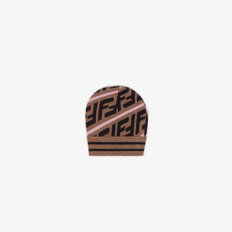 FENDI CAPPELLO - Cappello in cotone marrone - vista 2 dettaglio