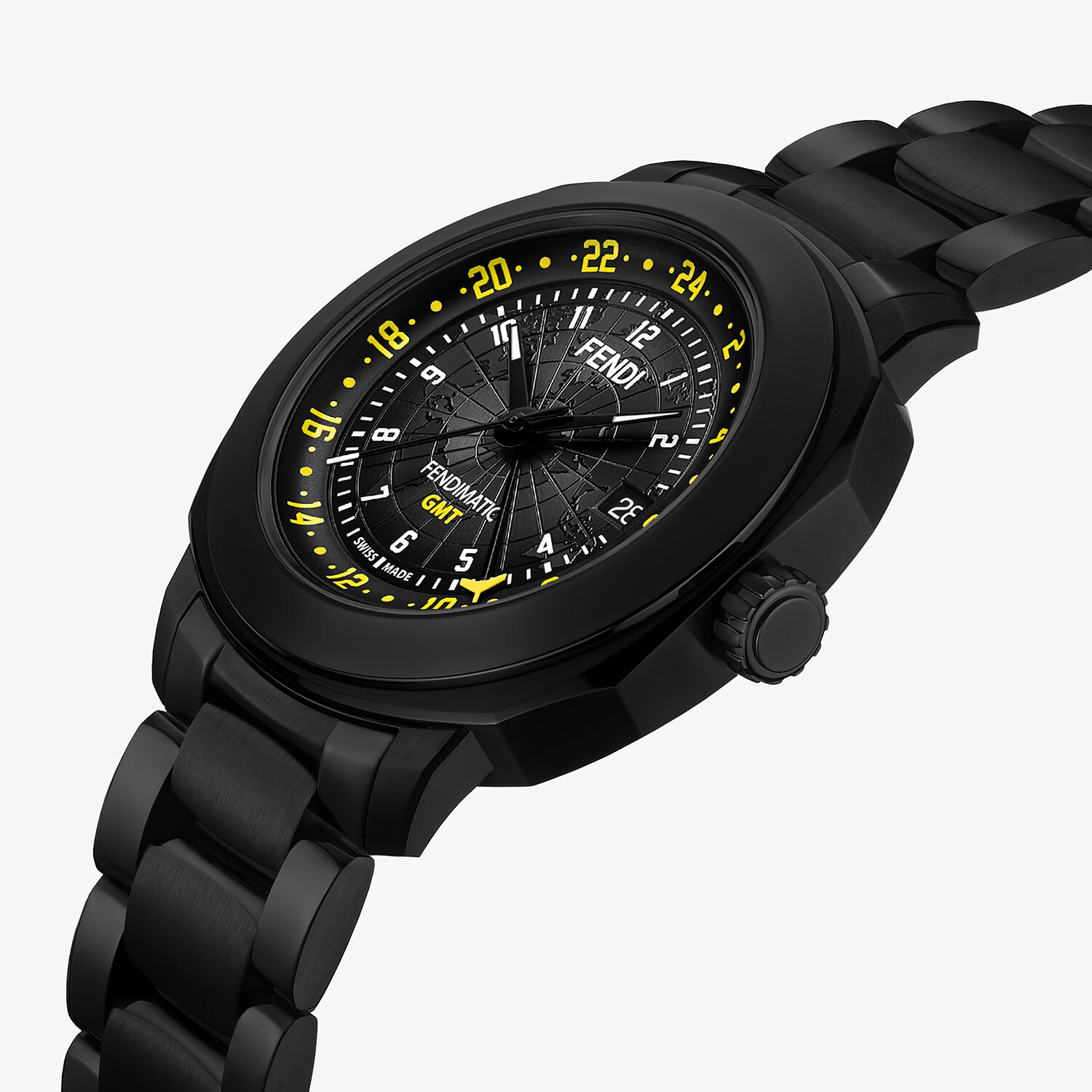 FENDI SELLERIA - 42mm (1.7inch) – Automatic watch with interchangeable bracelet - view 3 detail