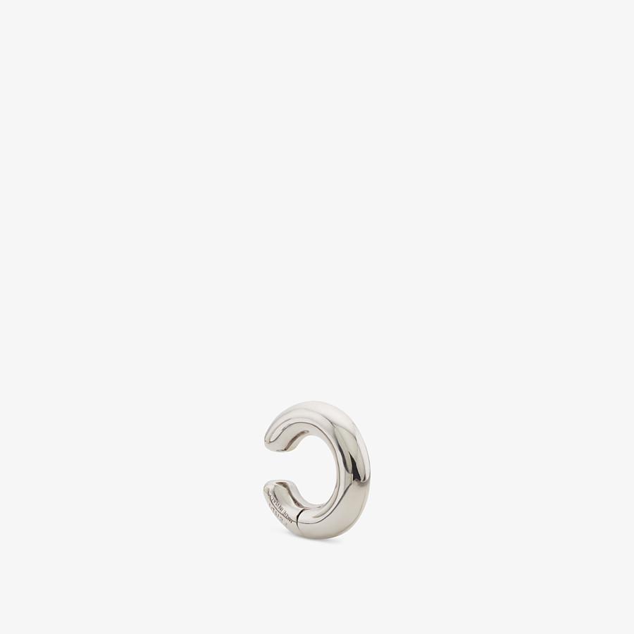 FENDI ORECCHINO FENDIOOPS - Orecchino color palladio - vista 1 dettaglio