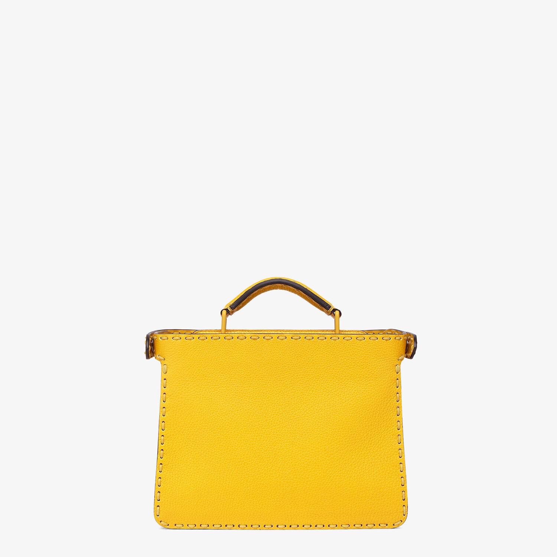 FENDI PEEKABOO ISEEU MINI - Yellow leather bag - view 4 detail