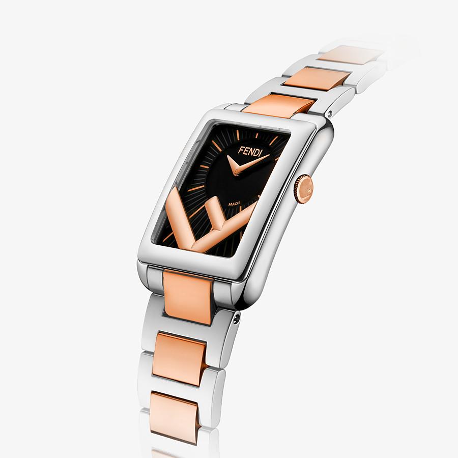 FENDI RUN AWAY - 22.5 x 32 MM - Watch with F is Fendi logo - view 3 detail