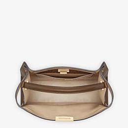 FENDI PEEKABOO X-LITE LARGE - Brown leather bag - view 5 thumbnail