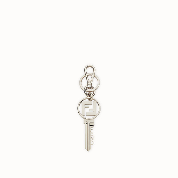 FENDI KEY RING - Palladium-finish metal key ring - view 1 small thumbnail