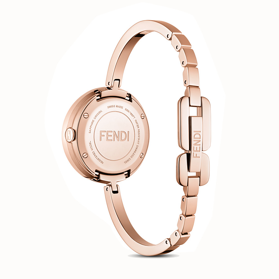FENDI FENDI MY WAY - 28 mm - Reloj con adorno Glamy de piel - view 3 detail