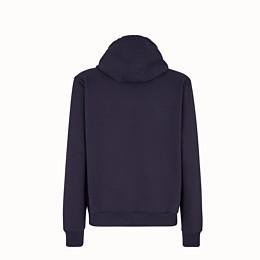 FENDI SWEATSHIRT - Sweatshirt aus Jersey in Blau - view 2 thumbnail