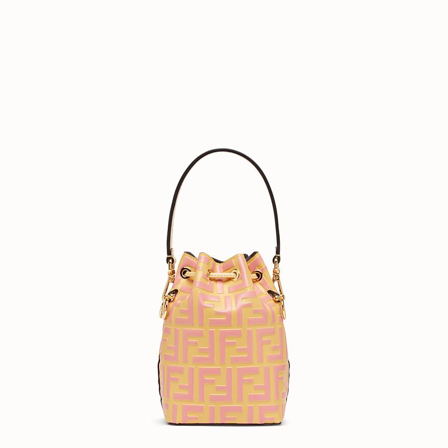 FENDI MON TRESOR - Minibag in pelle beige - vista 3 dettaglio