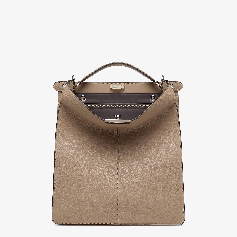 FENDI PEEKABOO ISEEU TOTE - Beige leather bag - view 2 detail