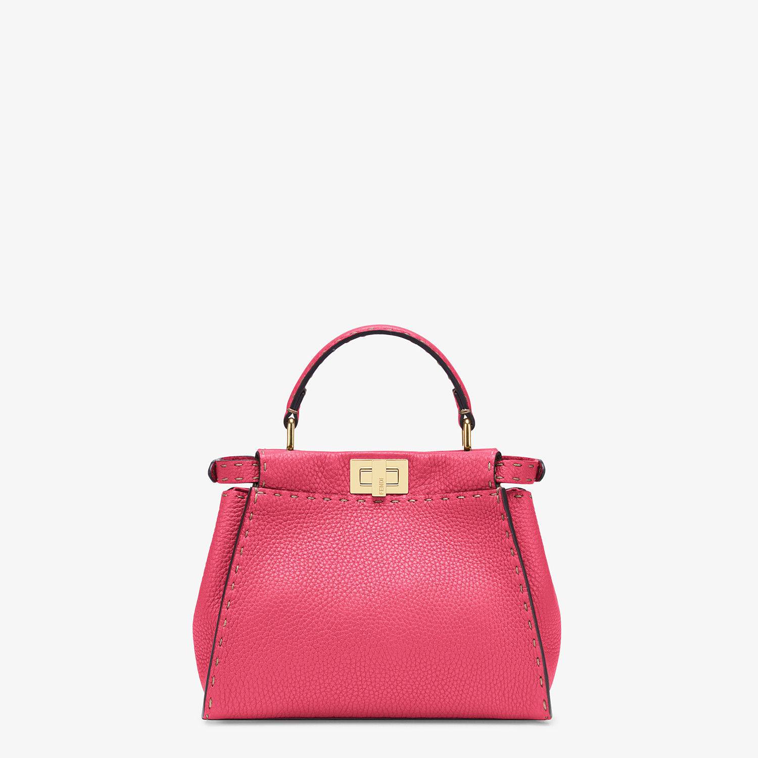 FENDI PEEKABOO ICONIC MINI - Fendi Roma Amor leather bag - view 4 detail