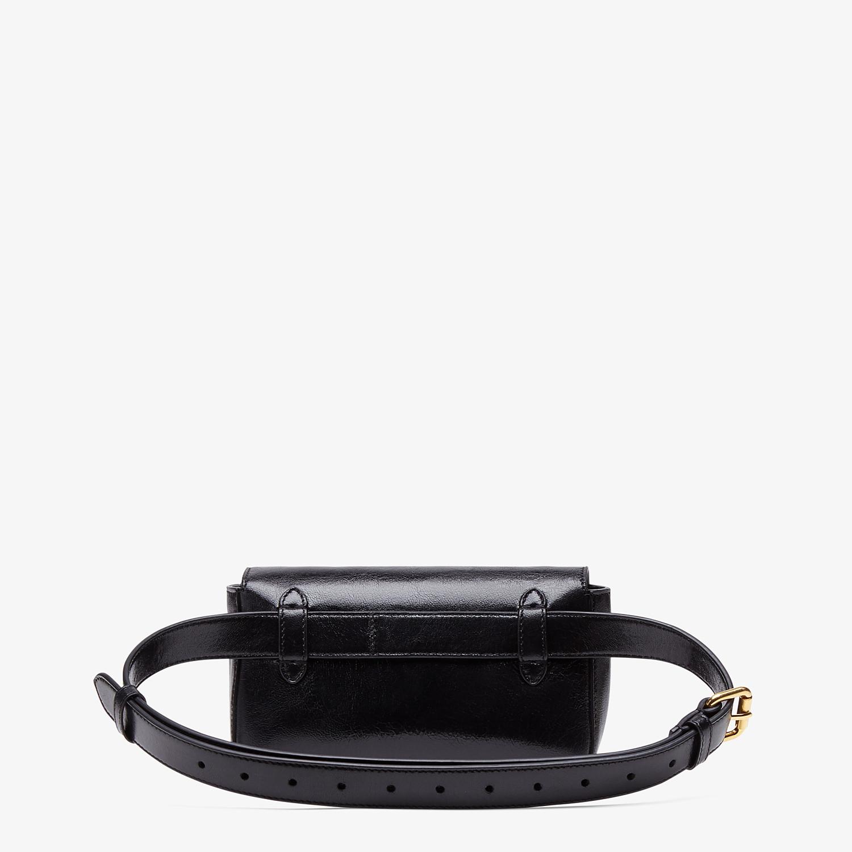 FENDI BELT BAG - Minibag in pelle nera - vista 3 dettaglio