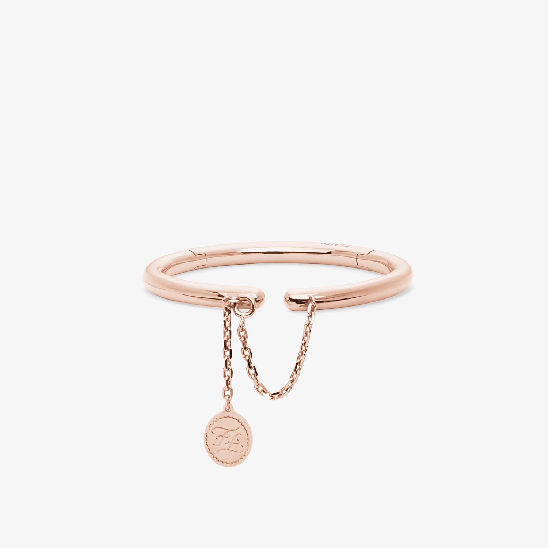 FENDI BRACCIALE KARLIGRAPHY - Bracciale color oro rosa - vista 1 dettaglio