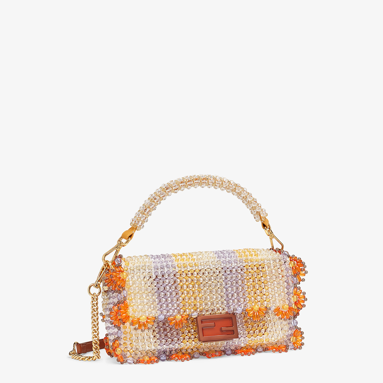 FENDI BAGUETTE - Bag with multicolour beads - view 3 detail