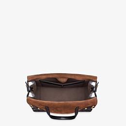 FENDI FENDI FLIP MEDIUM - Black leather bag - view 6 thumbnail
