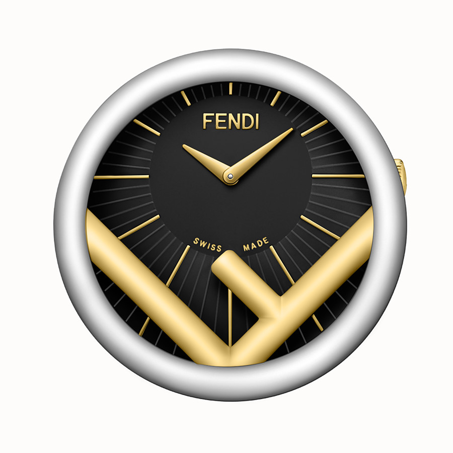 FENDI HORLOGE DE TABLE RUN AWAY - 60 mm – Horloge de table à logo F is Fendi - view 1 detail