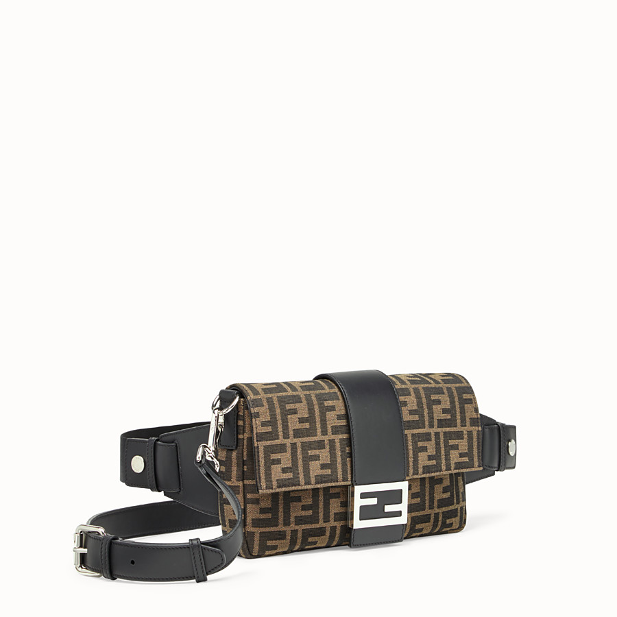 FENDI BAGUETTE - Brown fabric bag - view 2 detail