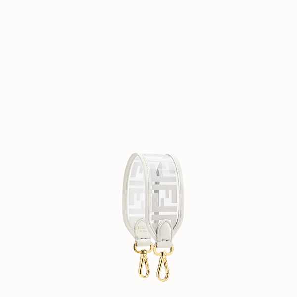 FENDI MINI STRAP YOU - Shoulder strap in transparent canvas - view 1 small thumbnail