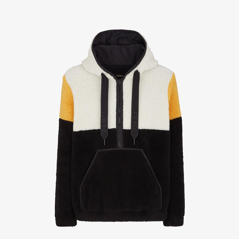 FENDI SWEATSHIRT - Multicolor wool sweatshirt - view 1 detail