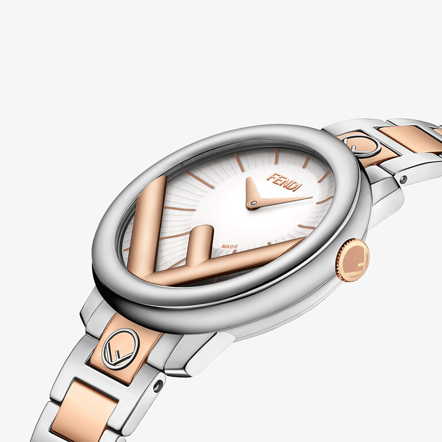 FENDI RUN AWAY - 28 mm (1.1 inch) - Watch with F is Fendi logo - view 3 detail