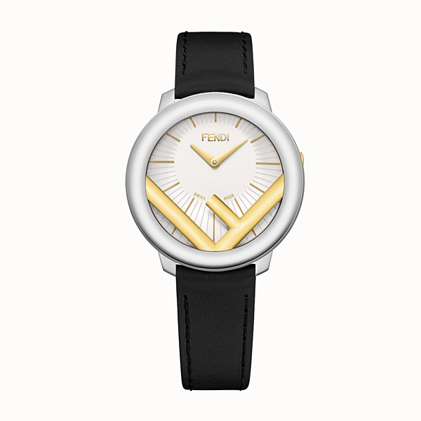 FENDI RUN AWAY - 36 mm - Watch with F is Fendi logo - view 1 small thumbnail