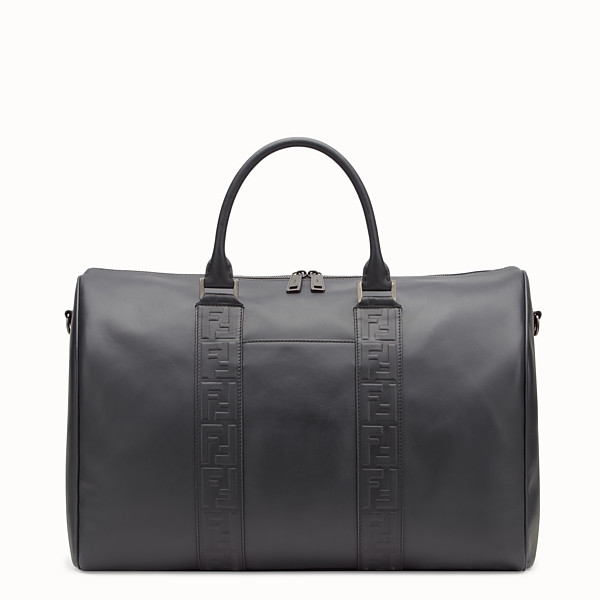 FENDI SATCHEL - Black leather bag - view 1 small thumbnail