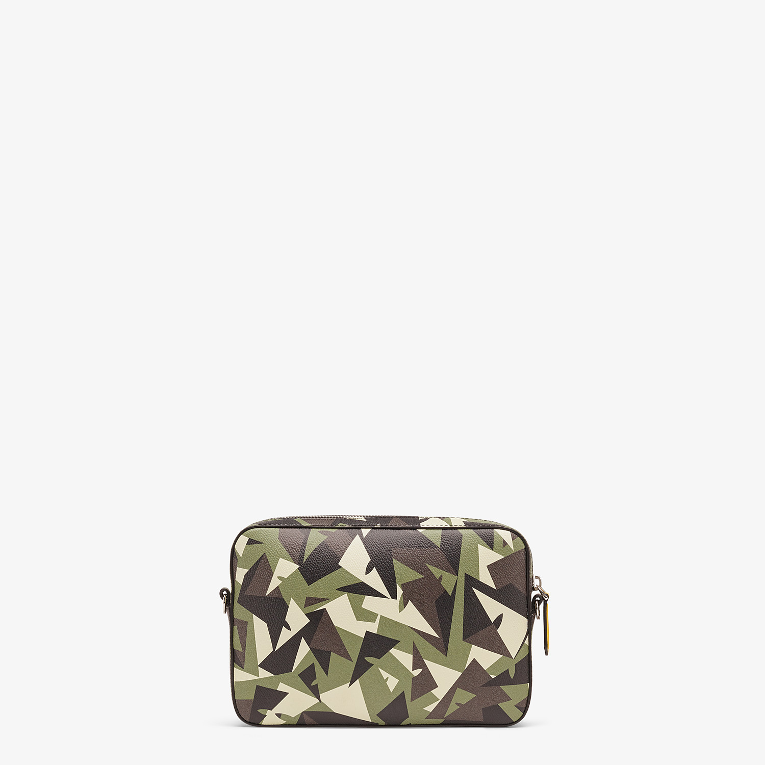 FENDI CAMERA CASE - Green leather bag - view 3 detail