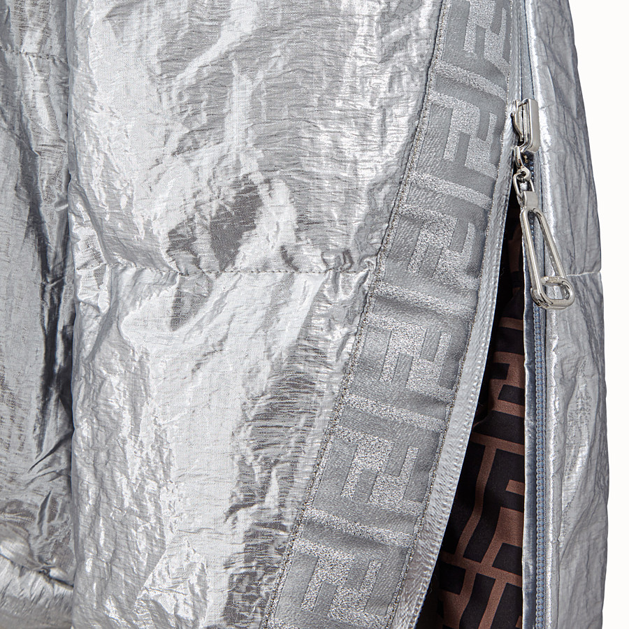 FENDI DAUNENJACKE - Fendi Prints On gefütterte Daunenjacke - view 4 detail