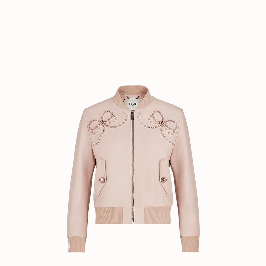 FENDI 外套 - 粉紅色皮革外套 - view 1 detail